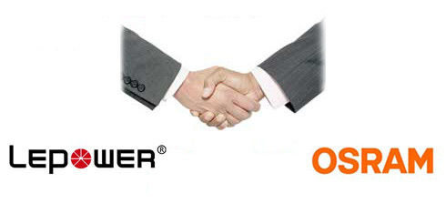Set up business relationship with OSRAM since 2018!