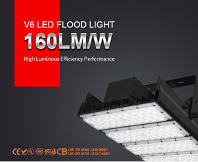 China Modular Outdoor LED Flood Lights IP66 AC90-305V Football Tunnel Stadium Applied supplier