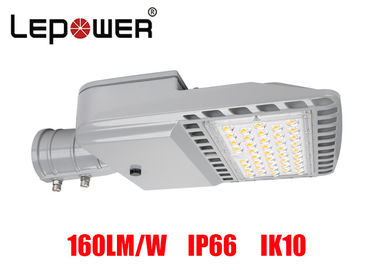 Bridgelux SMD 5050 LED Shoe Box Light 80W IP66 UL DLC Approved With Air Breather