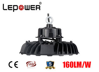 Industrial High Bay Led Shop Lights 100W Aluminium 155lm/w 50000 Hours Lifespan