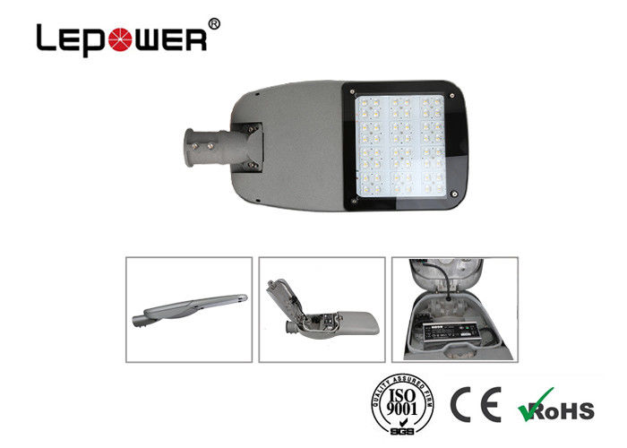 Gardens / Squares Outdoor LED Street Lights No UV Or IR Radiation For Area Lighting